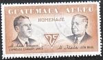 Stamps Guatemala -  Homenaje al Artista - al Filatelista
