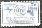 Sellos de America - Guatemala -  Centenario de la Unión Internacional de Telecomunicaciones