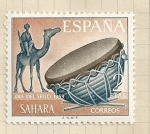 Stamps Spain -  Dia del Sello SAHARA
