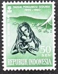Stamps : Asia : Indonesia :  TAHUN PENGUNGSI SEDUNIA