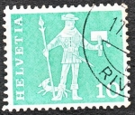 Stamps : Europe : Switzerland :  HELVETIA