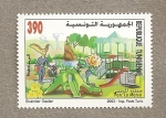 Stamps Africa - Tunisia -  Parque la Marsa