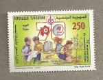 Stamps Africa - Tunisia -  70 Aniv. boy scouts de Túnez