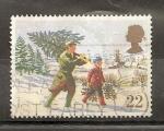 Sellos del Mundo : Europa : Reino_Unido :  Navidad.