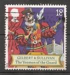Sellos del Mundo : Europa : Reino_Unido :  Sir Arthur Sullivan