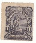 Stamps Honduras -  Centenario Descubrimiento America