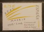 Stamps Europe - Spain -  CENTENARIO REAL MADRID CLUB DE FUTBOL