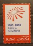 Sellos de Europa - España -  CENTENARIO ATLETICO DE MADRID. FUTBOL