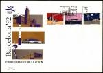 Stamps Spain -  Serie Olímpica - Inauguración Juegos Olímpicos Barcelona 92 - SPD