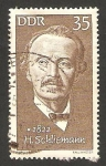 Stamps : Europe : Germany :  1424 - heinrich schliemann