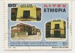 Stamps : Africa : Ethiopia :  Edificios Históricos