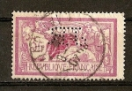 Stamps Europe - France -  Merson - Perforado (JR)