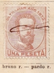 Stamps Europe - Spain -  Amadeo I Ultramar
