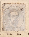 Stamps Europe - Spain -  Amadeo I Ultramar Ed 1873