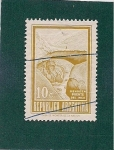 Stamps : America : Argentina :  Puente del Inca