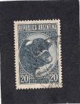 Stamps : America : Argentina :  Ganaderia