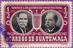 Stamps Guatemala -  R. Alvarez O y J. Joaquin P