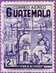 Sellos del Mundo : America : Guatemala :  Pedro de Bethancourt y enfermo