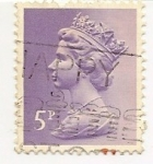 Stamps : Europe : United_Kingdom :  Queen Elisabeth II