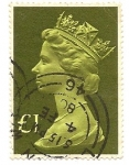 Stamps : Europe : United_Kingdom :  Queen Elisabeth