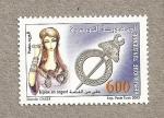 Sellos del Mundo : Africa : Túnez : Joyas en plata