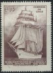 Sellos del Mundo : America : Chile : S425 - Sesquicentenario Escuela Naval
