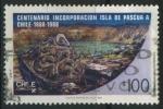 Sellos del Mundo : America : Chile : S794 - Cent. Incorporación Isla de Pascua