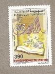 Sellos de Africa - Túnez -  Año Nacional del Libro 2003