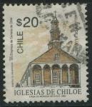Sellos de America - Chile -  Scott 1054 - Iglesias de Chiloe