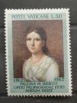 Sellos de Europa - Vaticano -  CENTENARIO DE LA MUERTE DE PAULINA Mª JARICOT, INICIADORA DE LA PROPAGACION DE LA FE