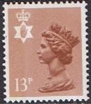 Stamps United Kingdom -  EMISIONES REGIONALES IRLANDA DEL NORTE 23/10/84