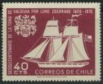 Sellos del Mundo : America : Chile : Scott 384 - Sesquicentenario de la toma de Valdivia...