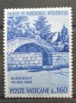 Sellos de Europa - Vaticano -  PEREGRINACION DE PABLO VI A TIERRA SANTA
