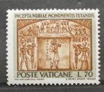 Stamps Vatican City -  SALVAGUARDA DE LOS MONUMENTOS DE NUBIA