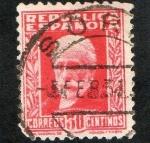 Stamps : Europe : Spain :  PABLO  IGLESIAS  - REPUBLICA ESPAÑOLA