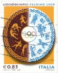 Stamps Italy -  Giochi olimpici-pechi