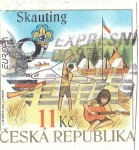 Stamps Europe - Czech Republic -  Skauting