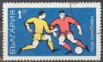Sellos del Mundo : Europa : Bulgaria : Bulgaria 1970 Scott 1842 Sello º Futbol Football Mexico 70 1 CT Bulgarie utilisé usado