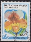 Sellos del Mundo : Africa : Burkina_Faso : Burkina Faso 1996 Scott 1083 Sello º Flora Orquideas Orchidees 100Fr Ex Alto Volta
