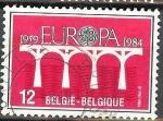 Sellos del Mundo : Europa : Bélgica : 1959 EUROPA 1984