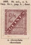 Sellos del Mundo : Africa : Guinea : Posesion Francesa Ed. 1893