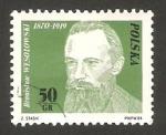 Sellos del Mundo : Europa : Polonia : 2588 - centº del movimiento obrero polaco de 1982, Bronislaw Wesolowski