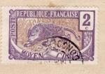 Stamps : Africa : Republic_of_the_Congo :  Posesion Francesa ed. 1907