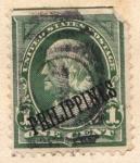 Stamps Asia - Philippines -  Presidente Washington