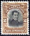 Stamps El Salvador -  Manuel José Arce