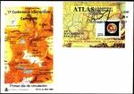 Stamps Spain -  Atlas Nacional de España - 17 conferencia internacional de cartografia - SPD