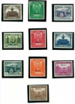 Sellos de Europa - España -  1931.10 de Octubre III Congreso de la Unión Postal Panamericana. Con habilitación Oficial.