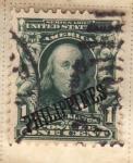Stamps Philippines -  Presidente Washington