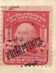 Sellos de Asia - Filipinas -  Presidente Washington