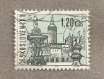 Sellos de Europa - Checoslovaquia -  Ciudad de Ceske Budejovice